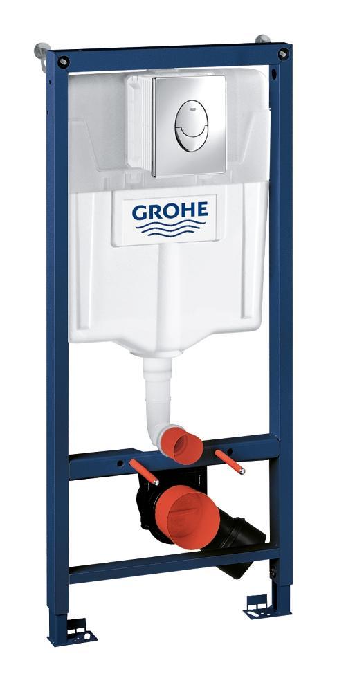 Rezervor wc Grohe Rapid SL set 3 in 1 Skate air, placuta rotunda-38721001 imagine