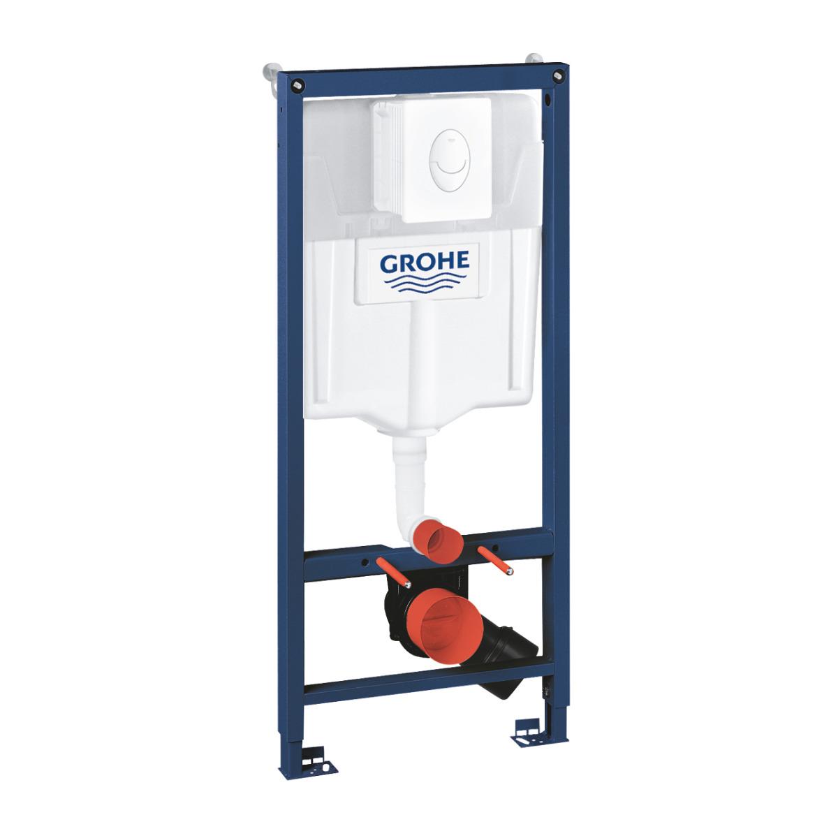Rezervor wc Grohe Rapid SL set 3 in 1 placuta alba-38722001 imagine