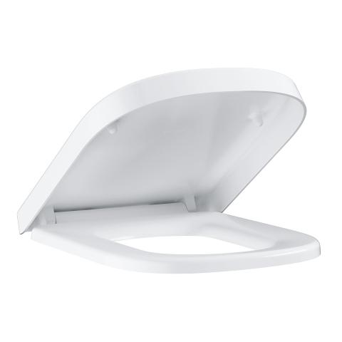 Capac wc Grohe Euro Ceramic, alb,include set fixare-39331001 imagine