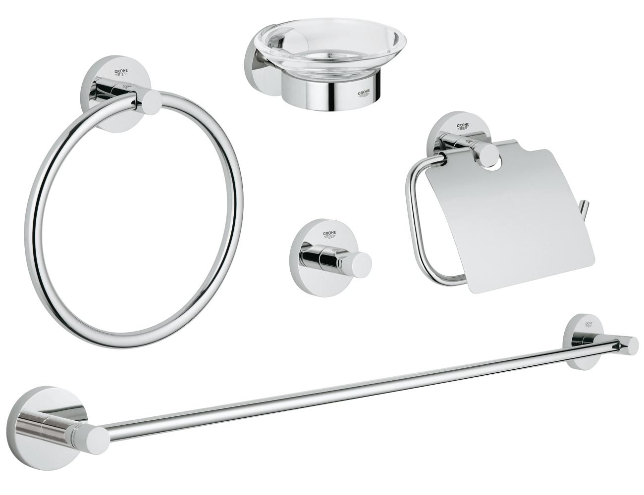 Accesorii baie Essentials set 6 piese-40344001 imagine