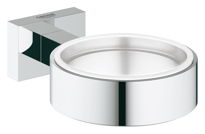 Suport pahar/savoniera Grohe Essentials Cube-40508001 imagine