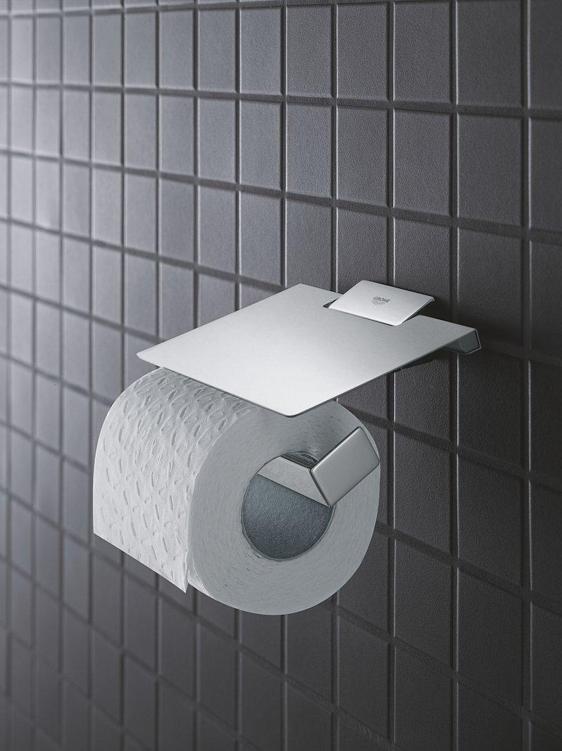Suport hârtie igienică Grohe Selection Cube- 40781000 imagine