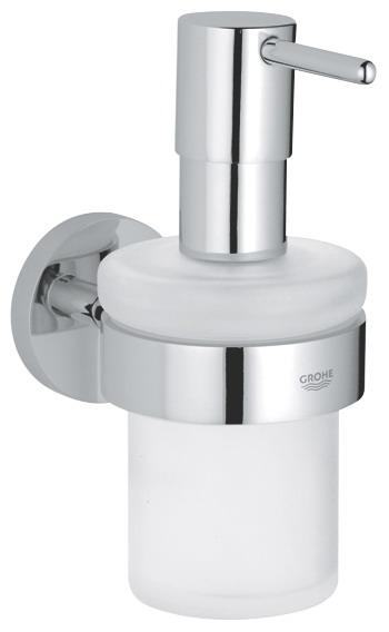 Dispenser sapun lichid cu suport inclus Grohe Essentials(40394001,40369001) imagine