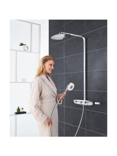 Sistem dus Grohe Rainshower Smartcontrol Mono 360-26361000-BATERII-LUX.ro-magazin sanitare