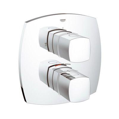 Baterie cada termostat  Grohe Grandera cu diverter-19948000