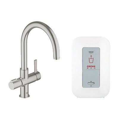 Baterie spalator si boiler Grohe Red Duo-30083DC0