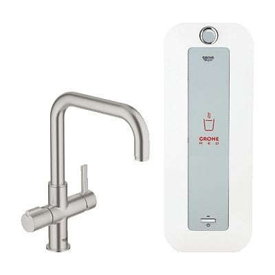 Baterie spalator si boiler Grohe Red Duo-30156DC0