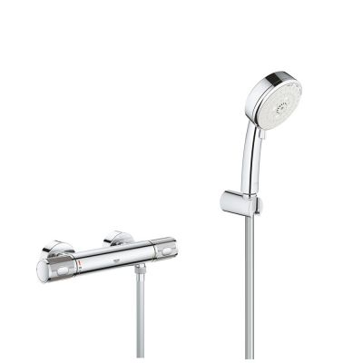 Set Baterie cabina dus termostat Grohe Grohtherm 1000 Performance, set dus 3 tipuri jet,porter,Cosmo(3477600,27588002)