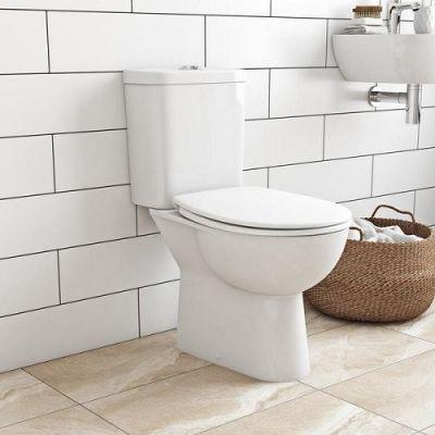 Set vas wc toaleta cu rezervor si capac softclose Grohe Bau Ceramic-39347000