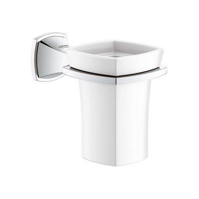 Pahar ceramic cu suport Grohe Grandera cod-40626000
