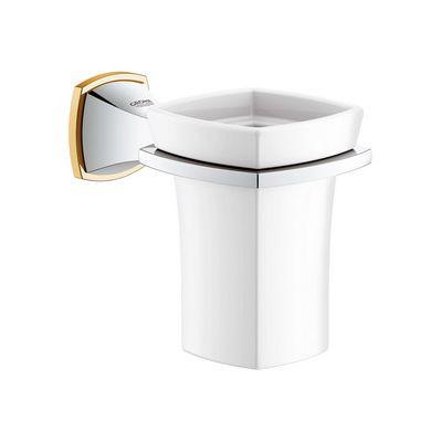 Pahar ceramic cu suport Grohe Grandera cod-40626IG0