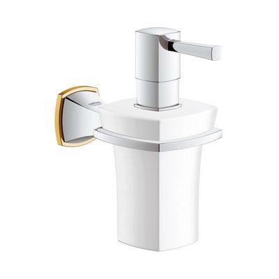 Dozator de sapun ceramic cu suport Grohe Grandera cod-40627IG0