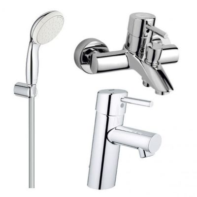 Pachet baterii 3 in 1 baterii cada Grohe Concetto set dus porter-baterii-lux.ro