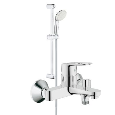 Pachet: Baterie baie cada/dus Grohe Bauloop-23341000+Set dus Grohe New Tempesta 100-27853001