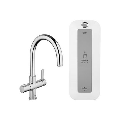 Baterie spalator si boiler Grohe Red Duo-30079000