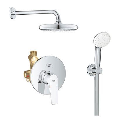 Sistem dus montaj incastrat Grohe Bauflow Perfect Shower,corp incastrat inclus