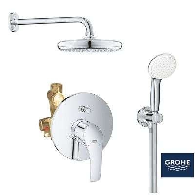 Sistem dus montaj incastrat Grohe Eurosmart New Perfect Shower 210 ,corp incastrat inclus