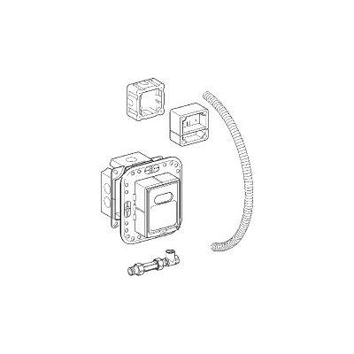Set instalare pentru radar electronic - Grohe-38387000