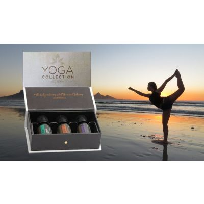 Kit uleiuri esentiale Yoga Collection - 5 ml