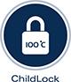 Grohe ChildLock - Fierbere de apă caldă cu mâner de siguranţă certificat - Siguranta copiilor este o prioritate pentru noi la GROHE. Cu sistemul nostru GROHE ChildLock, o actionare in 2 pasi tragere-și-rotire a mânerului din stânga este necesară pentru a activa fluxul de apă clocotită. Robinetul a fost testat în mod independent și certificat pentru a îndeplini standardele de siguranță pentru copii.