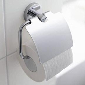 Suport hartie igienica pentru baie