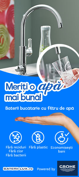 Apa filtrata, fara reziduri, fara bacterii, cu un gust bun