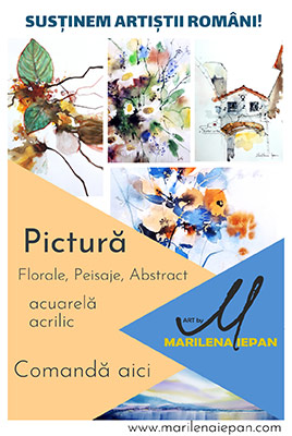 Artist Marilena Iepan-Pictura, florale, abstract,schite